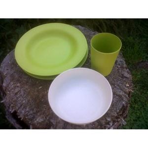 Zestaw naczynia Esbit z bambusu, Esbit