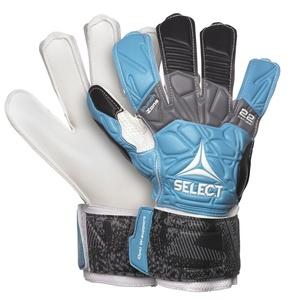 Bramkarzskie rękawice Select GK gloves 22 Flexi Grip Flat cut niebiesko czarny, Select