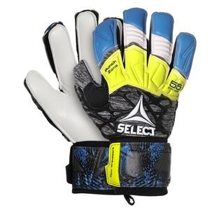 Bramkarzskie rękawice Select GK gloves 55 Extra Force Flat cut niebiesko siwy, Select
