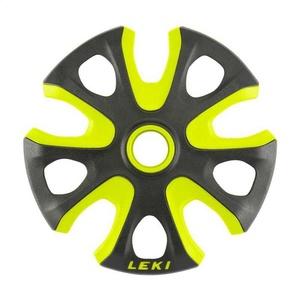 Talerzyk LEKI Big Mountain Basket 2K 95mm black-neon yellow 853100112, Leki
