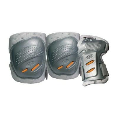Ochraniacze Tempish Cool Maxa 3 srebrny/pomarańczowy