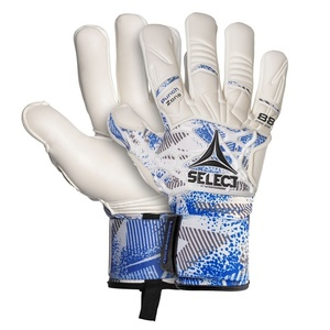 Bramkarzskie rękawice Select GK gloves 88 Pro Grip Negative cut biało niebieska