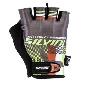 Męskie rękawice Silvini TEAM MA844 green, Silvini