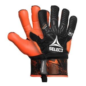 Bramkarzskie rękawice Select GK gloves 93 Elite Hyla cut czarno pomarańczowy