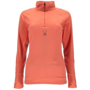 Golf Spyder Women's Shimmer Bug Velour Fleece T-Neck 868087-635, Spyder