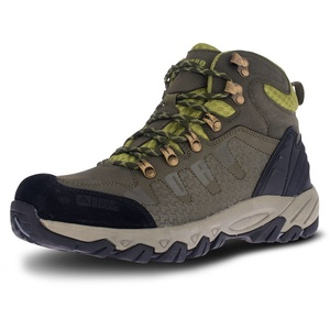 Męskie skóra outdoorowe buty NORDBLANC Rugged NBHC87 KHI, Nordblanc