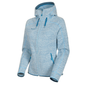 Damska bluza Mammut Arctic ML Hooded Jacket Women brigh white saphire melanż 00367 (1014-15703), Mammut