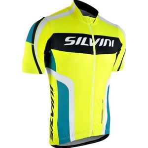 Męski rowerowy bluza Silvini LEMME MD603 neon-ocean, Silvini