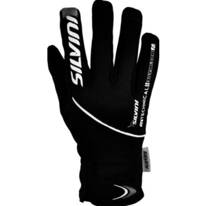 Damskie rękawice Silvini ORTLES WA723 black-charcoal, Silvini