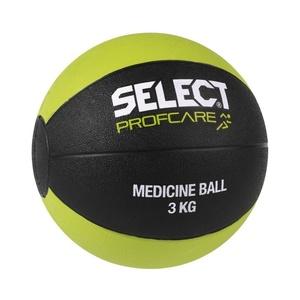 Ciężki piłka Select Medicine ball 3kg czarno zielony, Select