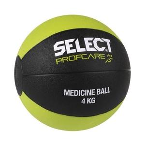 Ciężki piłka Select Medicine ball 4kg czarno zielony, Select
