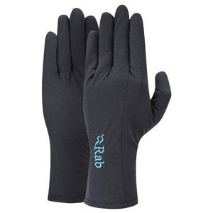 Rękawice Rab Forge 160 Glove Women's heban / eb, Rab