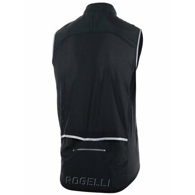 Rowerowa kamizelka Rogelli MOVE z oddychająca z powrotem, czarny 004.201, Rogelli
