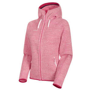Damska bluza Mammut Arctic ML Hooded Jacket Women blush dragon fruit melanż 3554 (1014-15703), Mammut