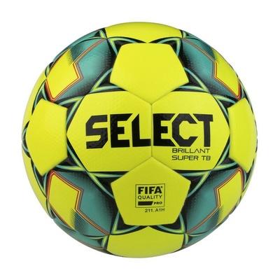 Piłka nożna Select FB Brillant Super TB żółty zielony, Select