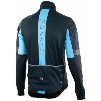 Ultralekka kurtka rowerowa Rogelli TRANSITION bez izolacja, niebieska 003.061, Rogelli