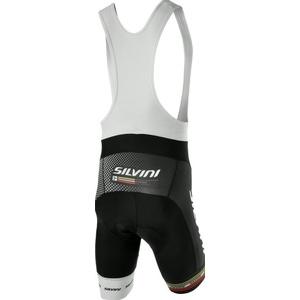 Męskie rowerowe spodnie Silvini TEAM TOP MP839 black, Silvini