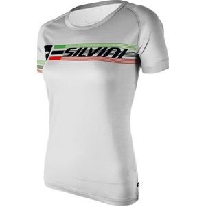 Damskie koszulka Silvini PROMO WT854 white, Silvini