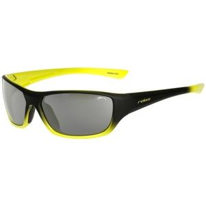 Dziecięce przeciwsłoneczne okulary RELAX Mona czarno żółte R3066A