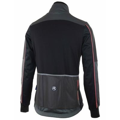 Powerno ciepły kobiety zimowy kurtka Rogelli SHINE z znaczący odblaskowe panele, czarny/szary odblaskowy różowa 010.370, Rogelli