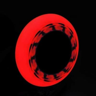 Zestaw kół Tempish FLASHING 90x24 85A czerwony, Tempish
