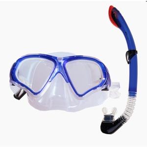 Zestaw Spokey TORTUGA + fajka okulary niebieska, Spokey