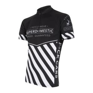 Bluza rowerowa męska Sensor Superdomestic czarny 16100028, Sensor