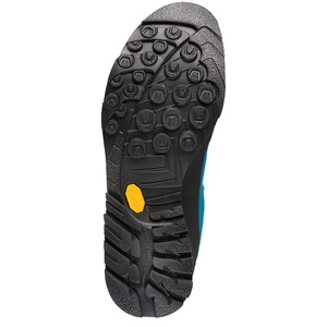 Buty La Sportiva Boulder X Mid GTX niebieski / żółty, La Sportiva