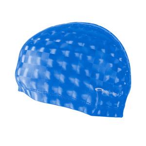 Pływacka czapka Spokey TORPEDO 3D niebieska, Spokey