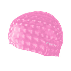 Pływacka czapka Spokey TORPEDO 3D różowa, Spokey