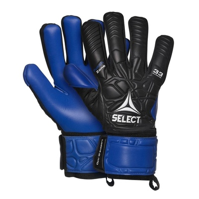 Bramkarzskie rękawice Select GK gloves 33 Allround czarno niebieska, Select