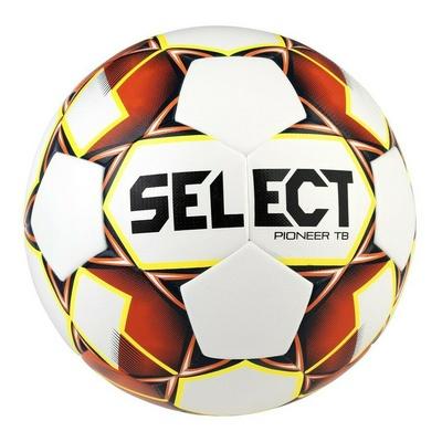 Piłka nożna Select FB Pioneer TB biała pomarańczowy, Select