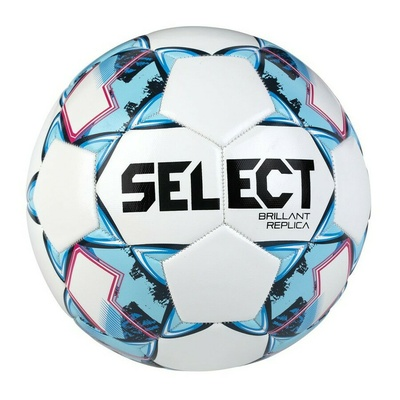 Piłka nożna Select FB Brillant Replica biało-niebieski, Select