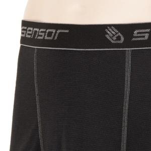 Męskie bokserki Sensor Double Face czarne 16200050, Sensor