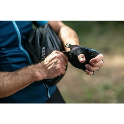 Rowerowe rękawice Rogelli PACE, niebieskie 006.381, Rogelli