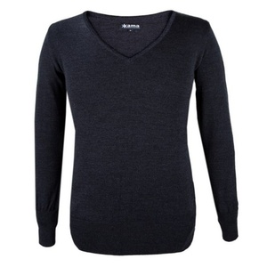 Damski sweter Kama 5101 111 ciemno siwy, Kama