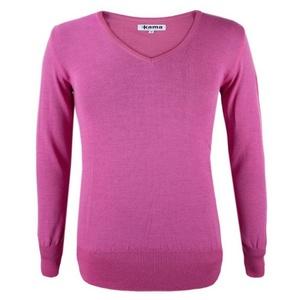 Damski sweter Kama 5101 114 różowy, Kama