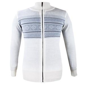 Damski sweter Kama 5102 101 naturalnie biały, Kama
