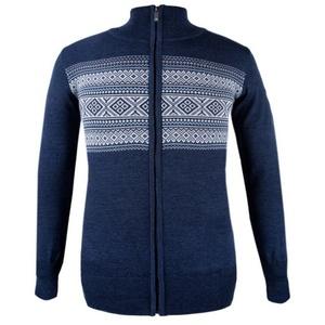 Damski sweter Kama 5102 108 ciemno niebieski, Kama