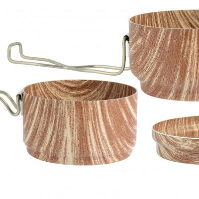 ESUS ALB WOOD 3-częściowy, design wood 0616, ALB