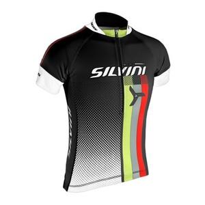 Dziecięcy rowerowy bluza Silvini TEAM kids CD842K black, Silvini