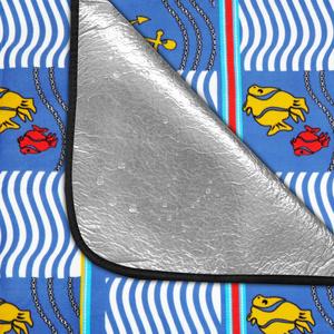 Piknikowa koc Spokey PICNIC AMBER 150 x 180 cm, Spokey