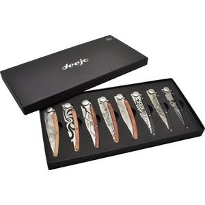 Deejo zestaw 8 nożów Tatto 37G DEE012, Deejo
