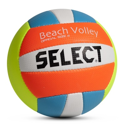 Do siatkówki piłka Select VB Beach Volley żółto niebieska