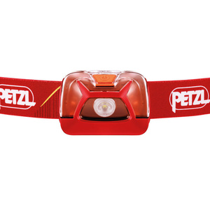 Latarka czołowa Petzl Tikkina New czerwona E091DA01, Petzl