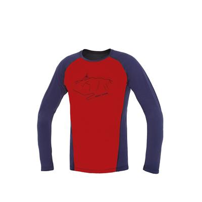 Koszulka Direct Alpine Furry long cegła / indygo (peak), Direct Alpine