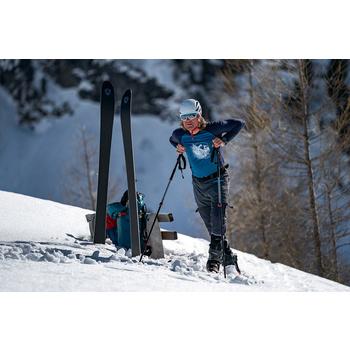 Koszulka Direct Alpine Furry long benzyna / indygo (miejsce), Direct Alpine