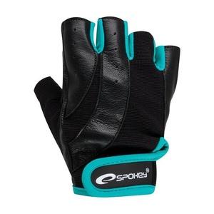 Fitness rękawice Spokey ZOE czarno-zielony, Spokey