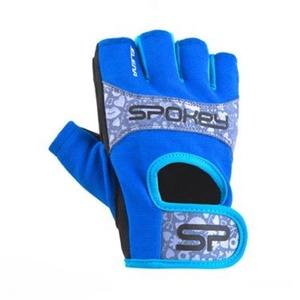 Damskie fitness rękawice Spokey ELENA II niebiesko-turkusowy, Spokey