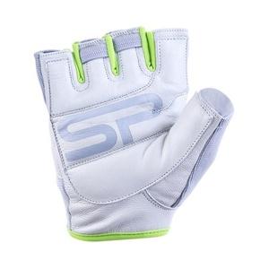 Damskie fitness rękawice Spokey ZOE II biało-wapienny, Spokey